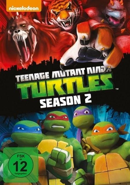 #Teenage Mutant Ninja Turtles – Staffel 2 [DVD]#