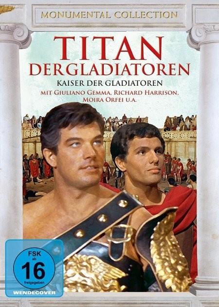 Titan Der Gladiatoren / Kaiser Der Gladiatoren [DVD]