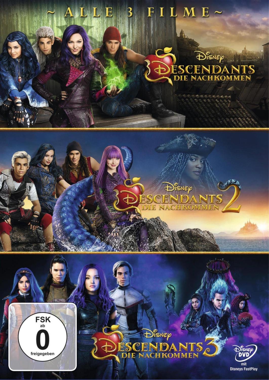 Descendants 1-3 [DVD]