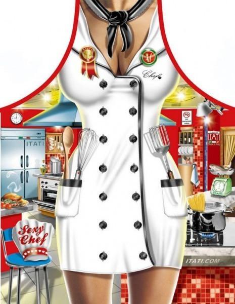 Itati Sexy Chef Kochschürze