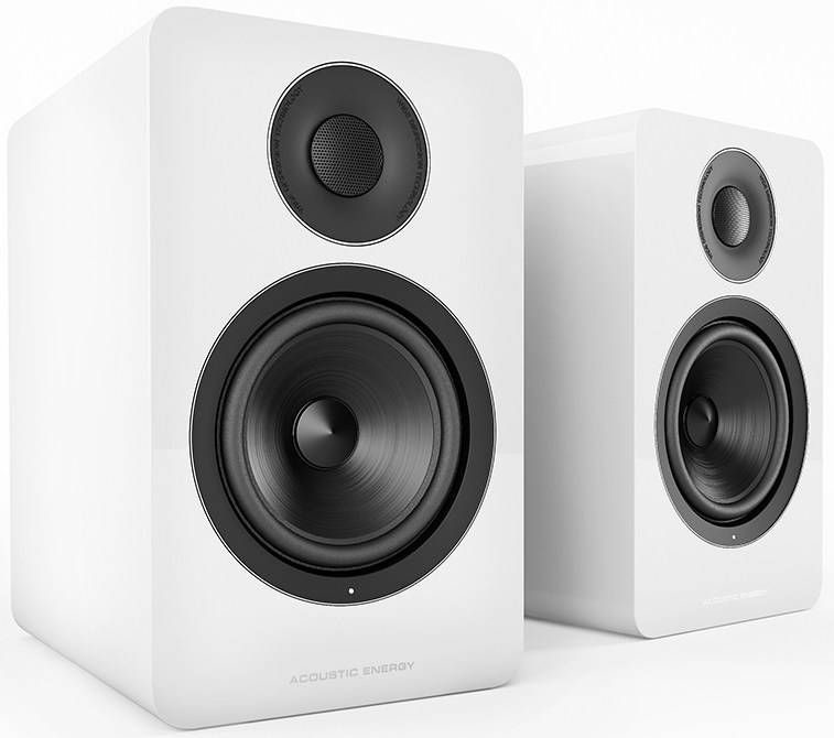 Image of Acoustic Energy AE1 Active Speakers White Piano