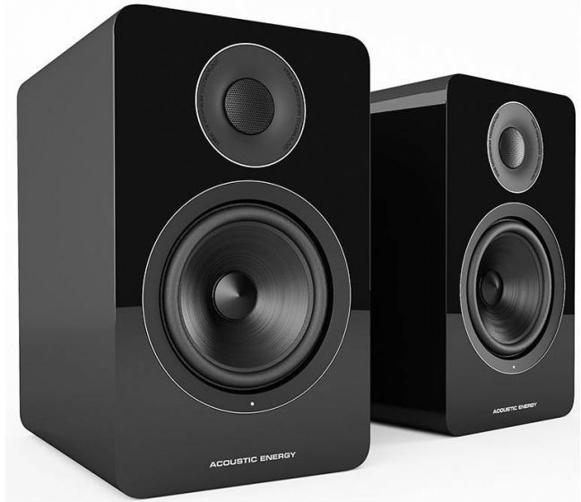 Image of Acoustic Energy AE1 Active Speakers Gloss Black