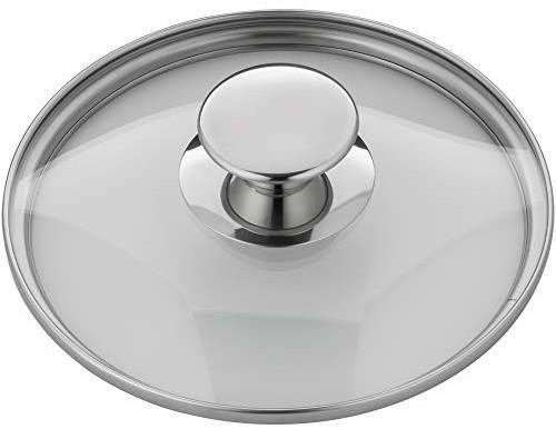WMF Glasdeckel 16 cm mit Metallknauf