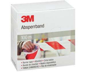 3M Absperrband rot/weiß 70 mm x 100 m