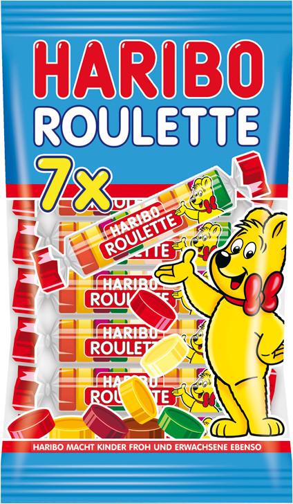 Haribo Roulette (7er-Pack)