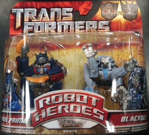 Transformers Movie 2 - Robot Heroes - Doppelpac...