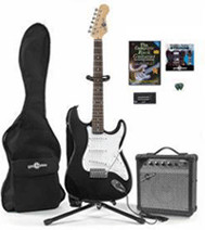 Image of Gear4music Electric-ST Guitar & Complete Pack