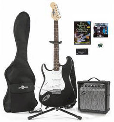 Image of Gear4music Electric-ST Complete Pack LH