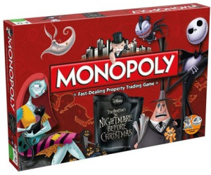 Buy MONOPOLY: Tim Burton's The Nightmare Before Christmas ...