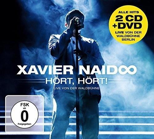 #Xavier Naidoo – Hört, Hört! Live Von Der Waldbbühne Berlin (CD + DVD)#