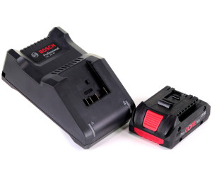 Ladegerät GAL 18V-40 Bosch Starter-Set 18 V 2x ProCORE18V 4,0 Ah Akku