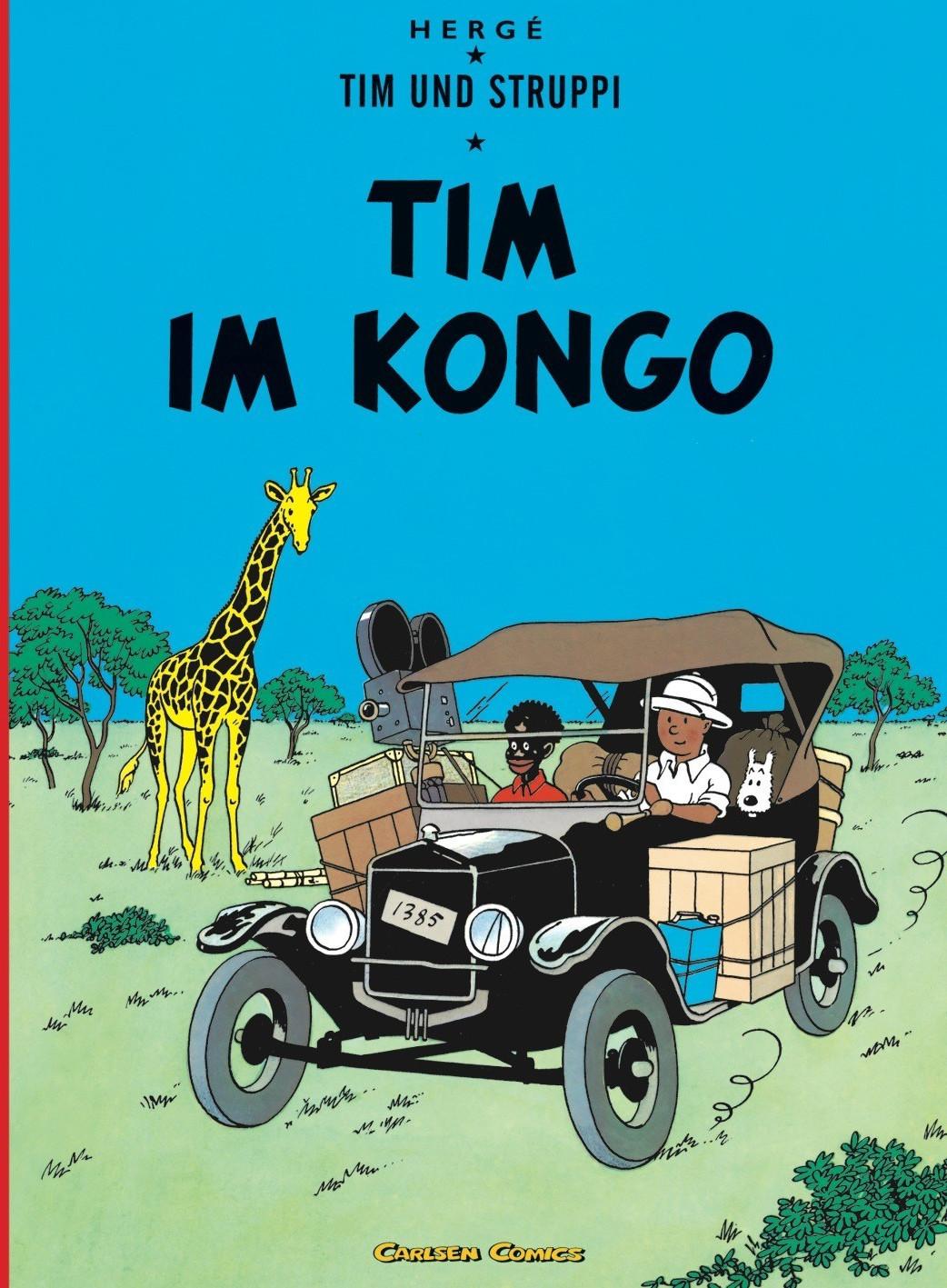 Image of Tim und Struppi: Band 1: Tim im Kongo