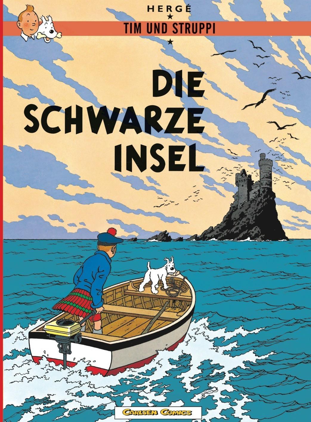 Image of Die Schwarze Insel (Tim und Struppi, Band 6)