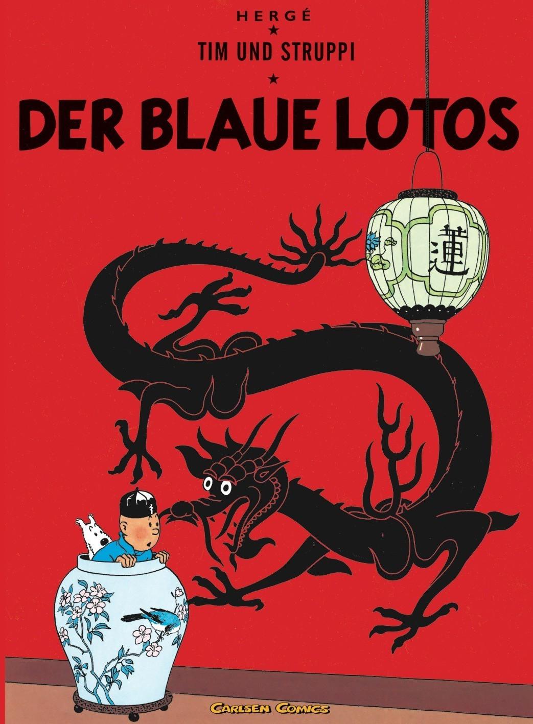 Image of Tim und Struppi Band 4: Der blaue Lotos