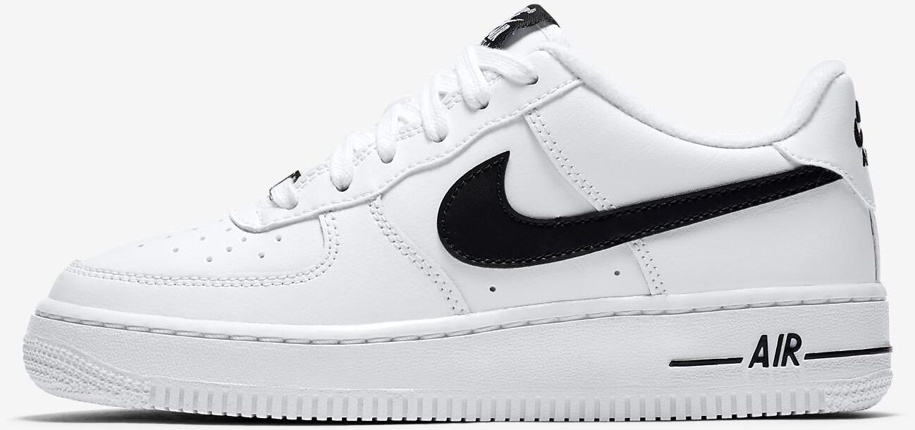Nike Air Force 1 Kids Black/White