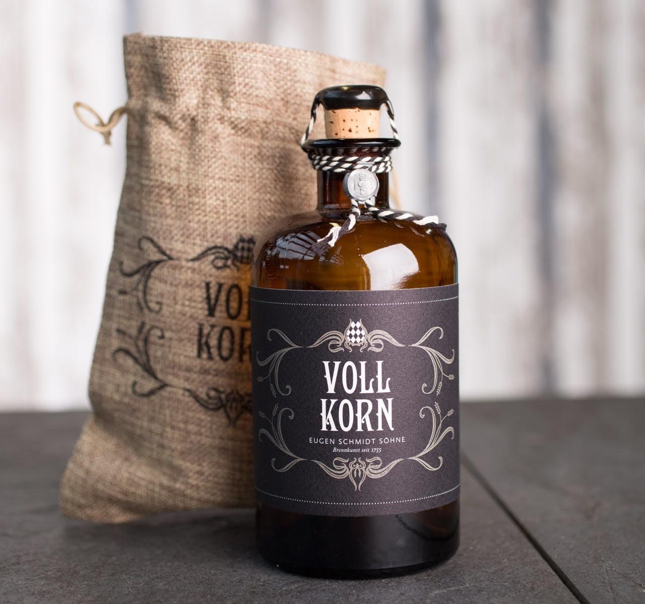 Weingut Schmidt Vollkorn Kornbrand 40% 0,5l