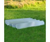 1m Rasenkante Beeteinfassung Beetumrandung PVC 58//1000mm 6 Erdanker