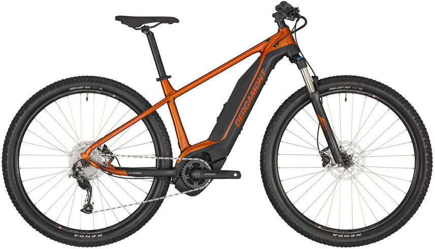 Image of Bergamont E-Revox 4 (2020) dirty orange- black