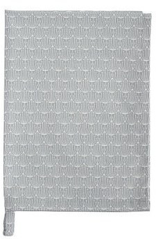 Krasilnikoff Geschirrtuch Blossom grau (Kw1480)