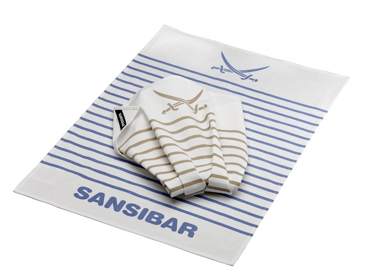 Rösle Geschirrtuch Sansibar Set 2-teilig (43526)