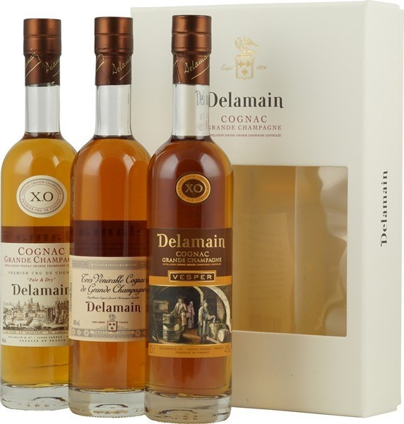 Delamain Trio Cognac 3 x 0,2l 40%