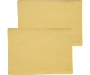Pichler Tischset Jazz im 2er-Pack gelb 33x46 cm