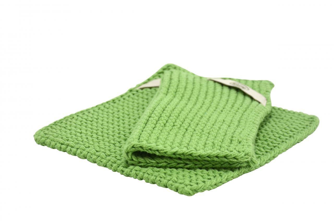Solwang Topflappen warm grün