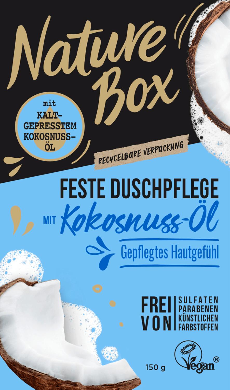Nature Box Festes Duschgel Kokosnuss-Öl (150g)