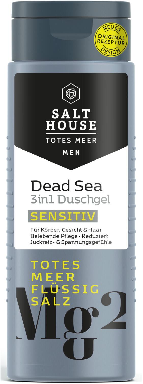 Salthouse Duschgel Men Totes Meer Sensitiv (250ml)