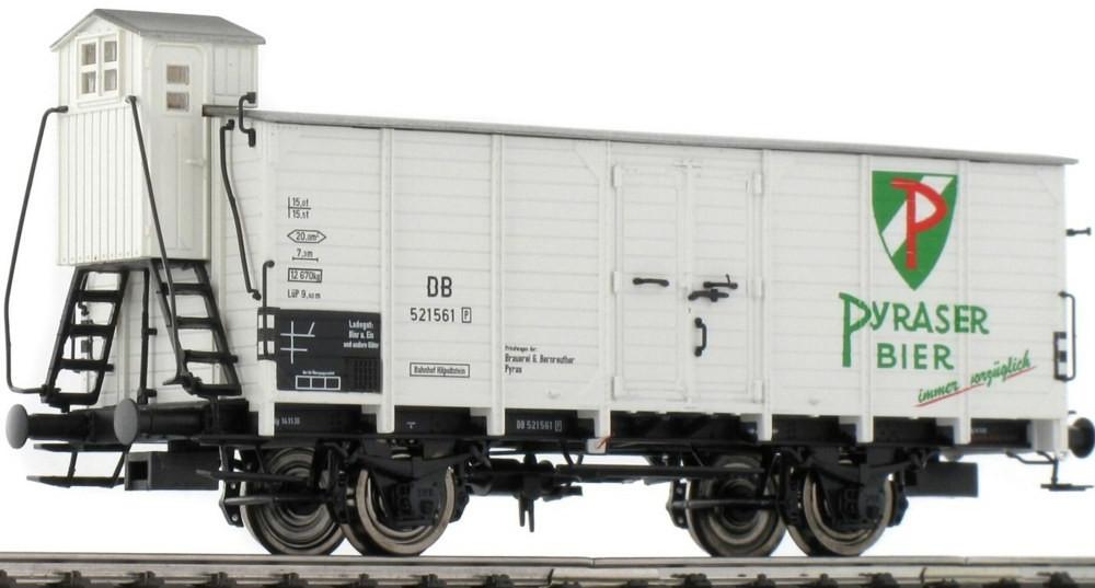 Brawa Bierwagen G 10 Pyraser Bier der DB (49043)