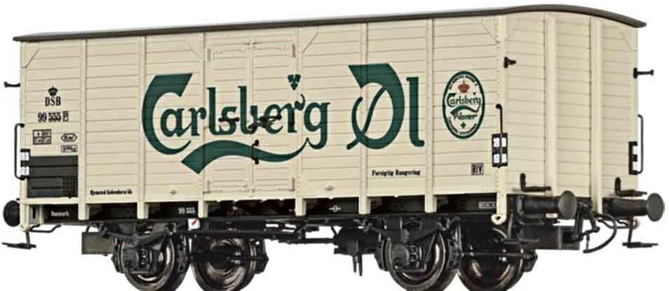 Brawa Bierwagen G10 Carlsberg der DSB (49066)