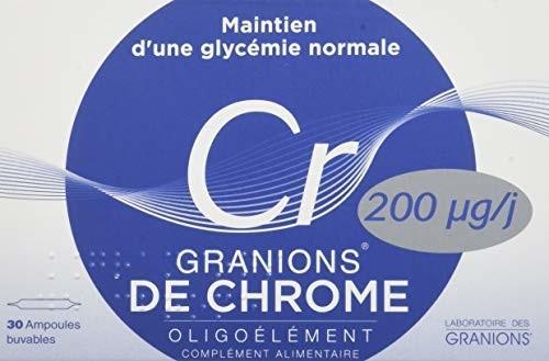 Laboratoire des GRANIONS Granions de Chrome