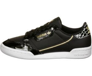 Adidas Continental 80 Women core black/ftwr white/gold ...