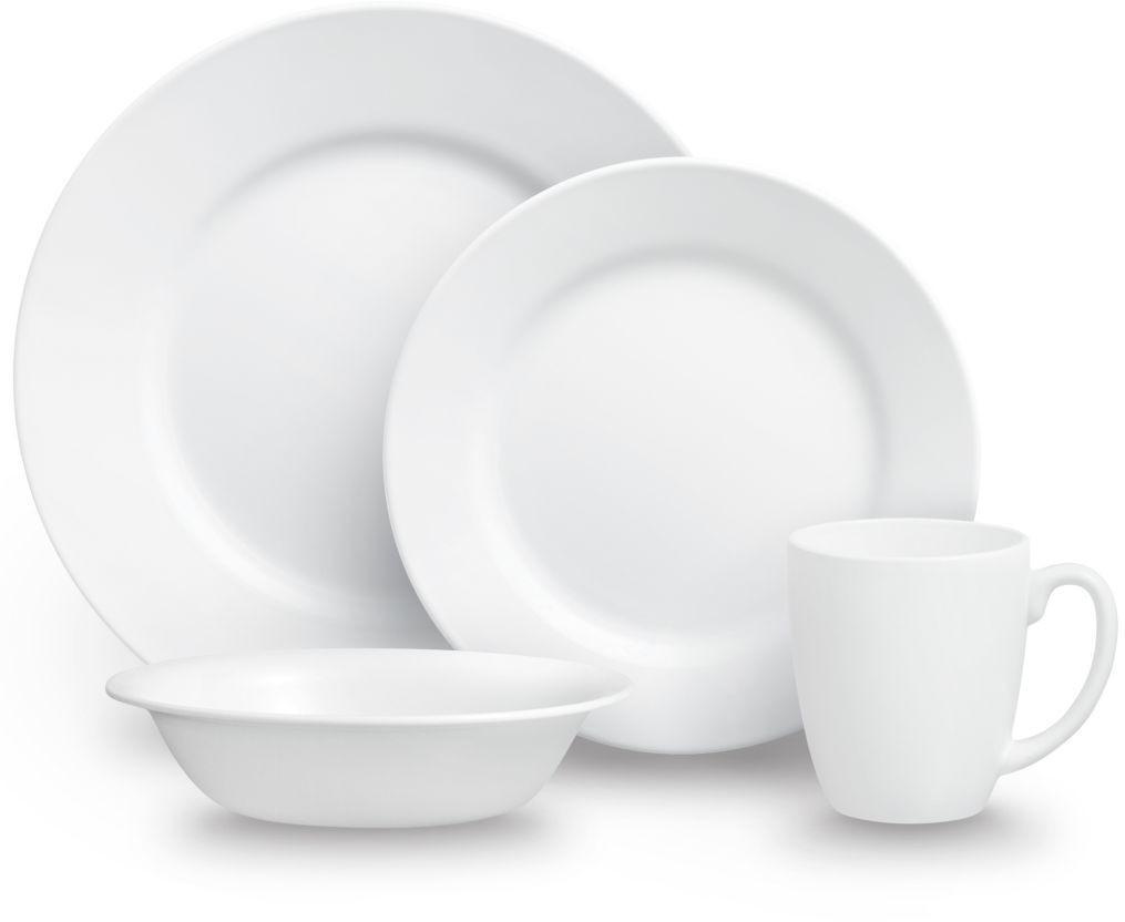 Corelle Geschirrset Dazzling white (16-tlg.)