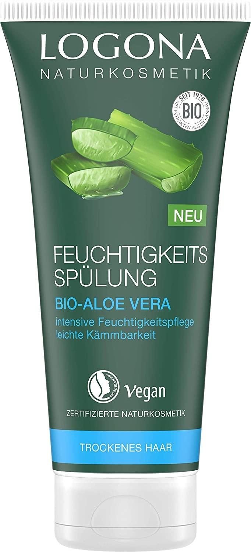 Logona Feuchtigkeits Spülung Bio-Aloe Vera (200 ml)