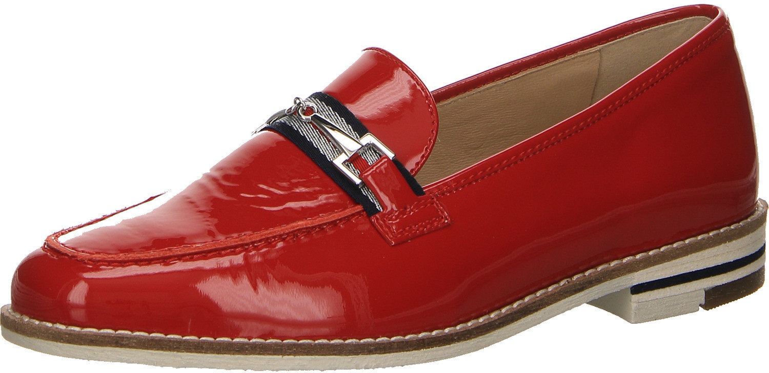 Ara Kent College Slipper red patent