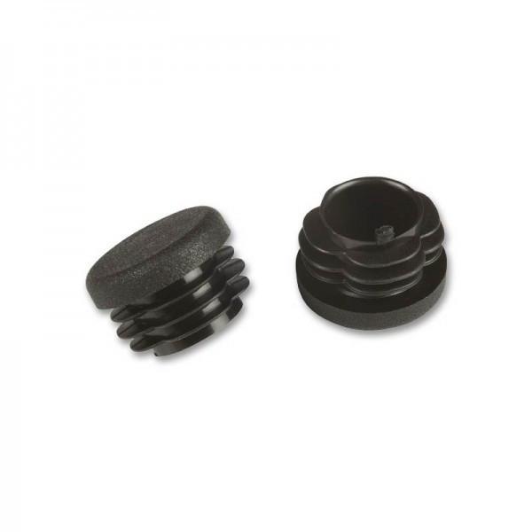 Fix-o-moll Rohrstopfen rund 30 mm schwarz VE 50