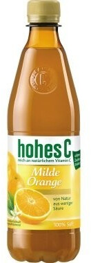 Hohes C Milde Orange 0,5l