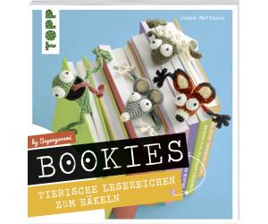 Bookies. Tierische Lesezeichen zum Häkeln by Supergurumi (ISBN: 9783772481277)