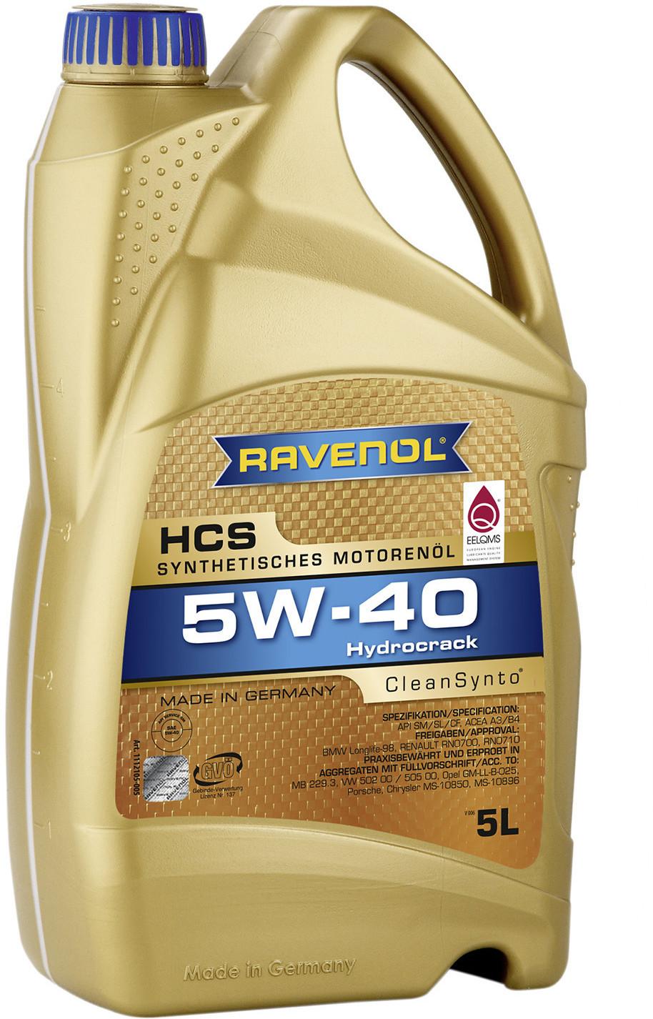 Ravenol HCS 5W-40 (5 l)