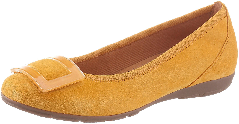 Gabor Ballet Flats (44.164) yellow