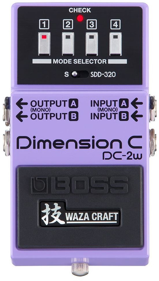#Boss Waza Craft DC-2W Dimensio C#