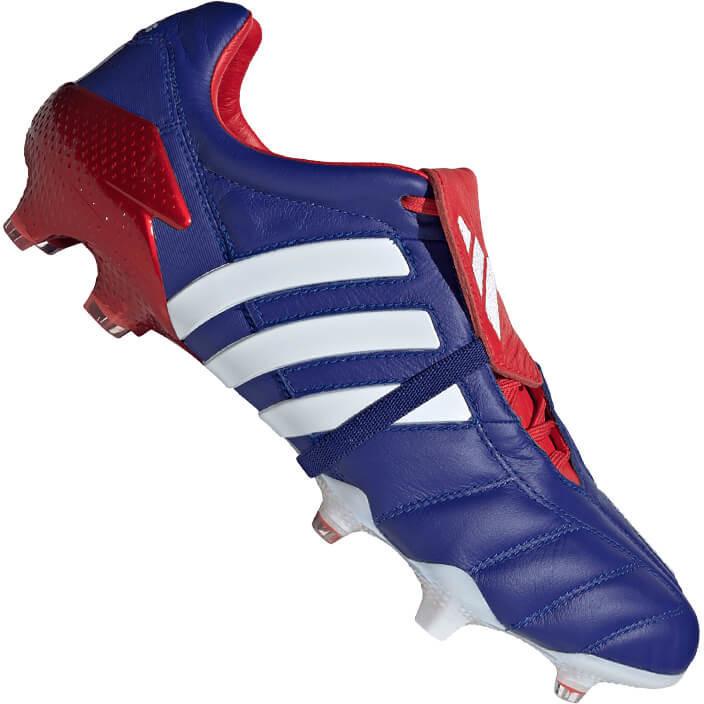Image of Adidas Predator Mania FG active blue/cloud white/predator red