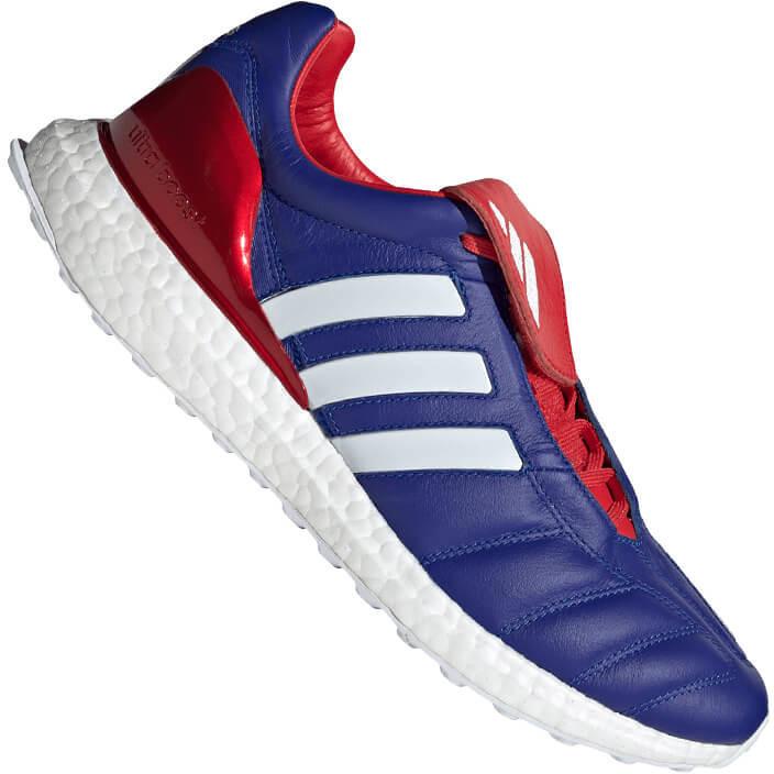 Image of Adidas Predator Mania TR active blue/cloud white/predator red