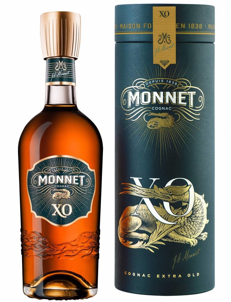 Monnet Cognac XO The Exellence of 0,7l 40%