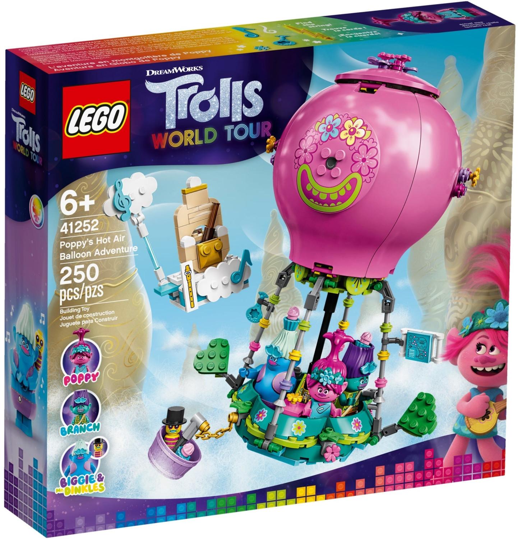 LEGO Trolls - Poppys Heissluftballon (41252)