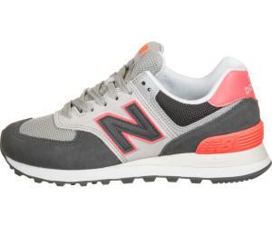 New Balance 574 Women black with tahitian pink & grey ab 57 ...
