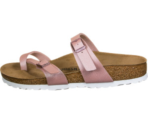 Birkenstock Mayari Birko-Flor icy metallic/old rose (narrow) au ...
