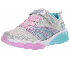 Skechers Fusion Flash (302043L) silver sparkle meshlavender MY34a