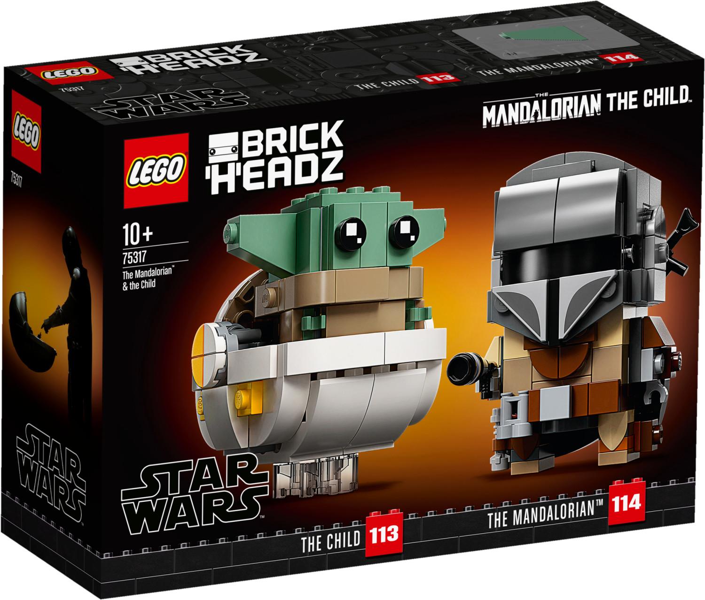 LEGO Star Wars - Le Mandalorien et l'Enfant (75317)